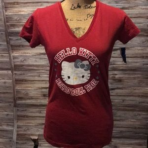 Alabama Hello Kitty Shirt. T295